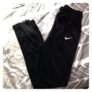 Youth black nike pants
